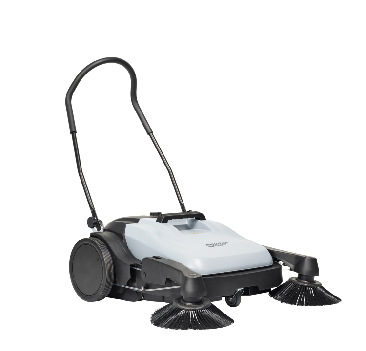 Nilfisk Sw250 Floor Sweeper Manual Push Floor Sweeper