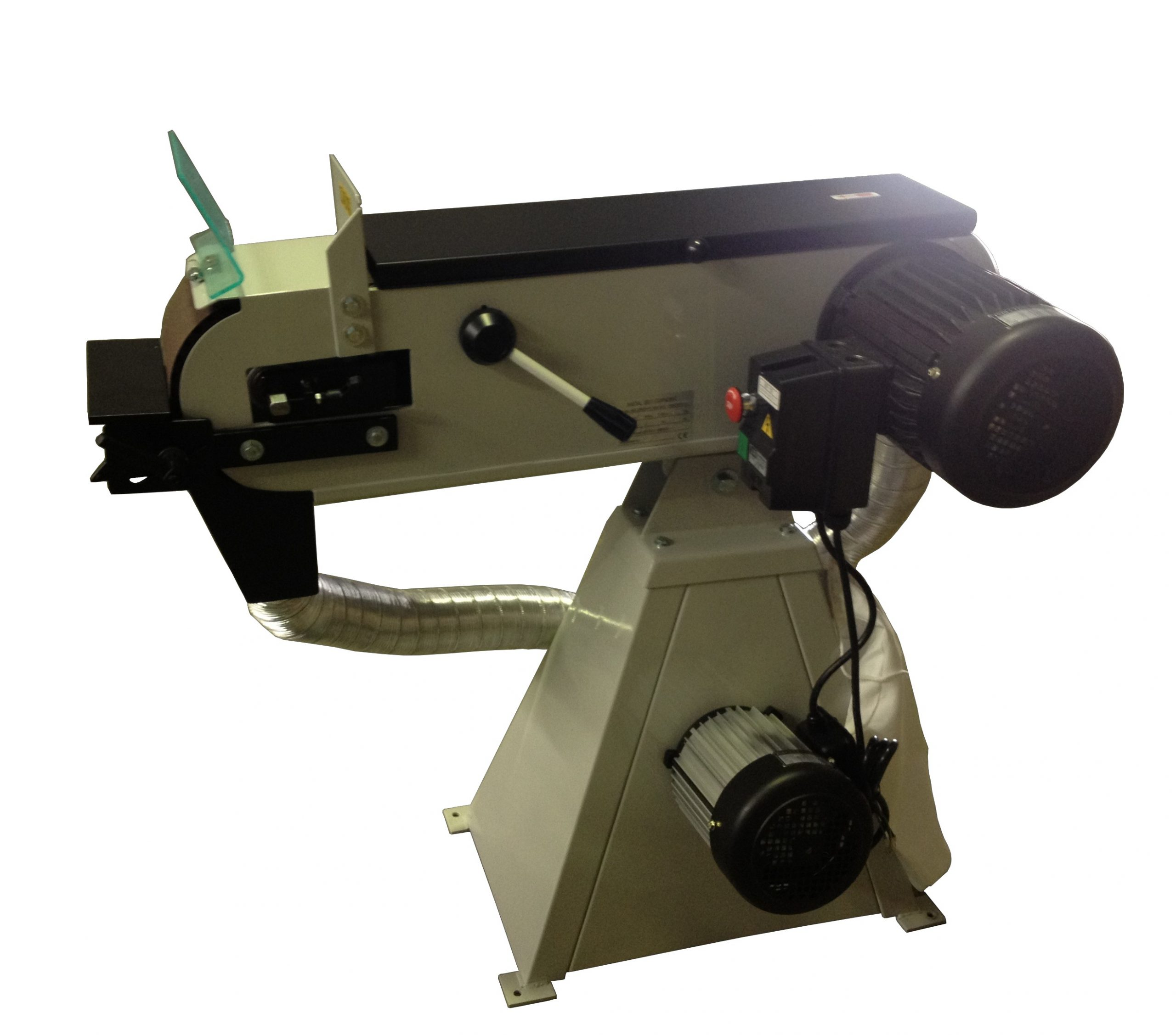PG150X Belt Grinder With Dust Extraction